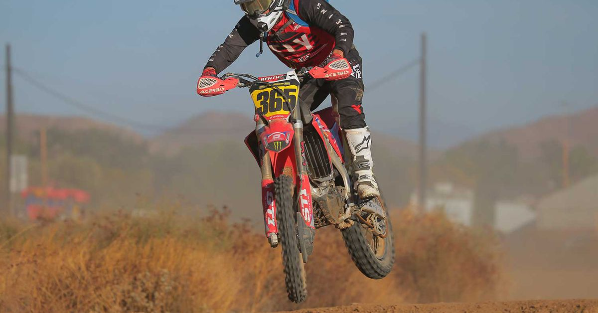 2020 Honda CRF450RX Review First Ride