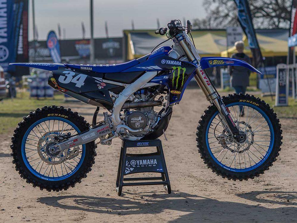 2019 Amateur Motocross Factory Racebikes—Jarrett Frye's