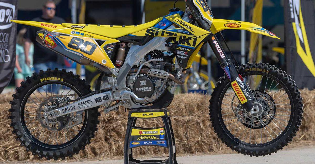 Factory Amateur MX Bikes—Preston Kilroy's Suzuki RM-Z250