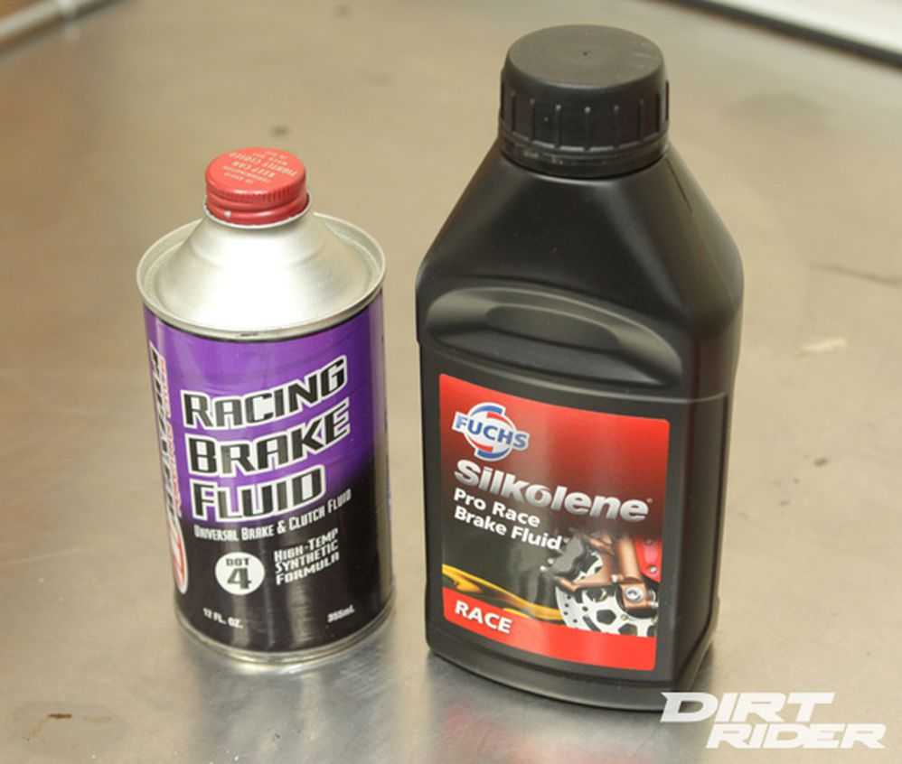 How to Change Motorcycle Brake Fluid | Dirt Rider