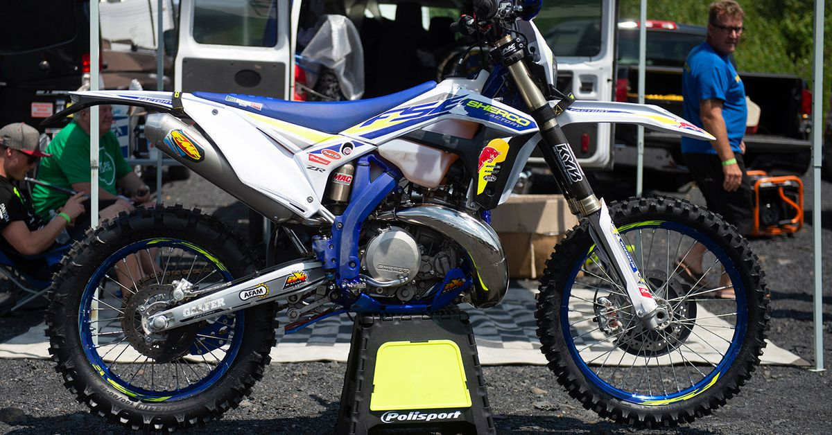 Factory Off-Road Bikes—Wade Young's Sherco 300 SE Factory