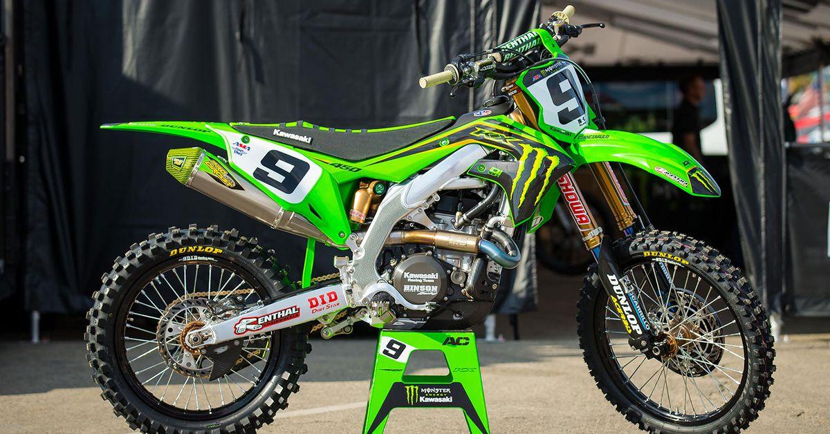 2020 Factory Supercross Bikes—Adam Cianciarulo's Kawasaki KX450