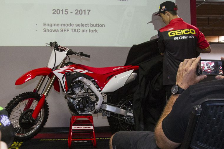 RR FND RED CRF250X