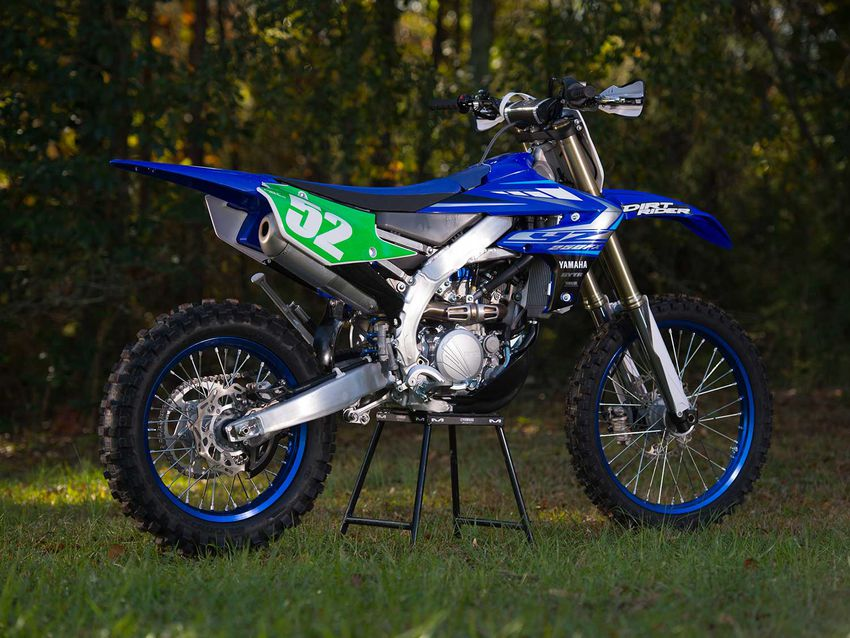 The Yamaha YZ250FX was first introduced in 2015 and remained relatively unchanged over the following five years. For 2020, Yamaha's 250cc four-stroke off-road bike is all-new.