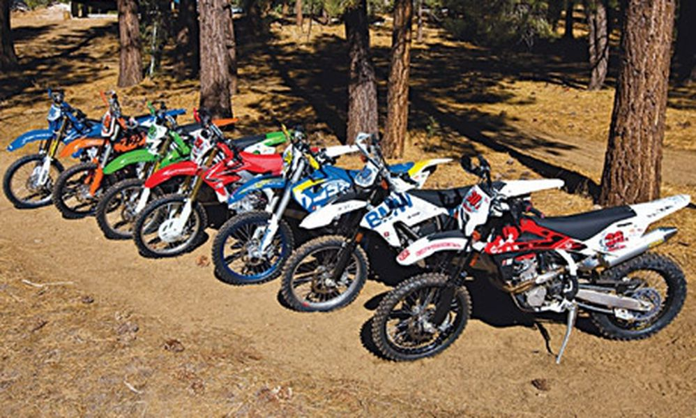2009 450 Off-Road Shootout - Dirt Rider Magazine   Dirt Rider