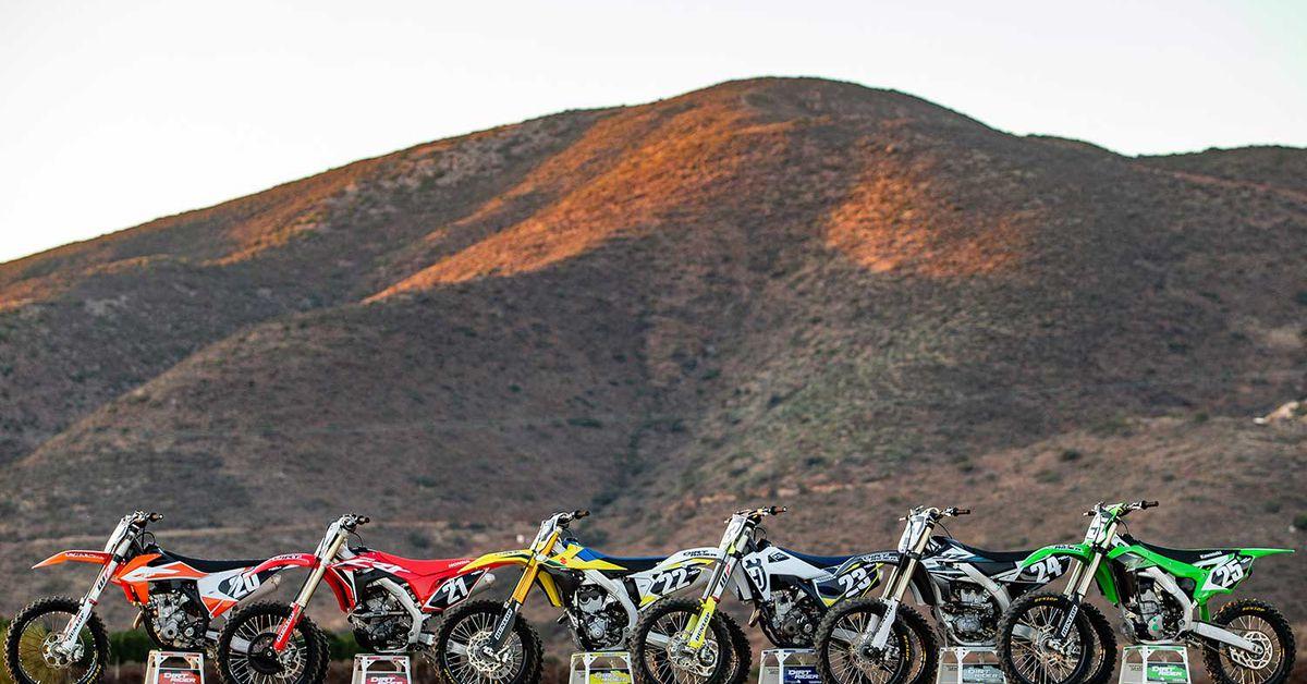 250 Four-Stroke Motocross Bike Comparison