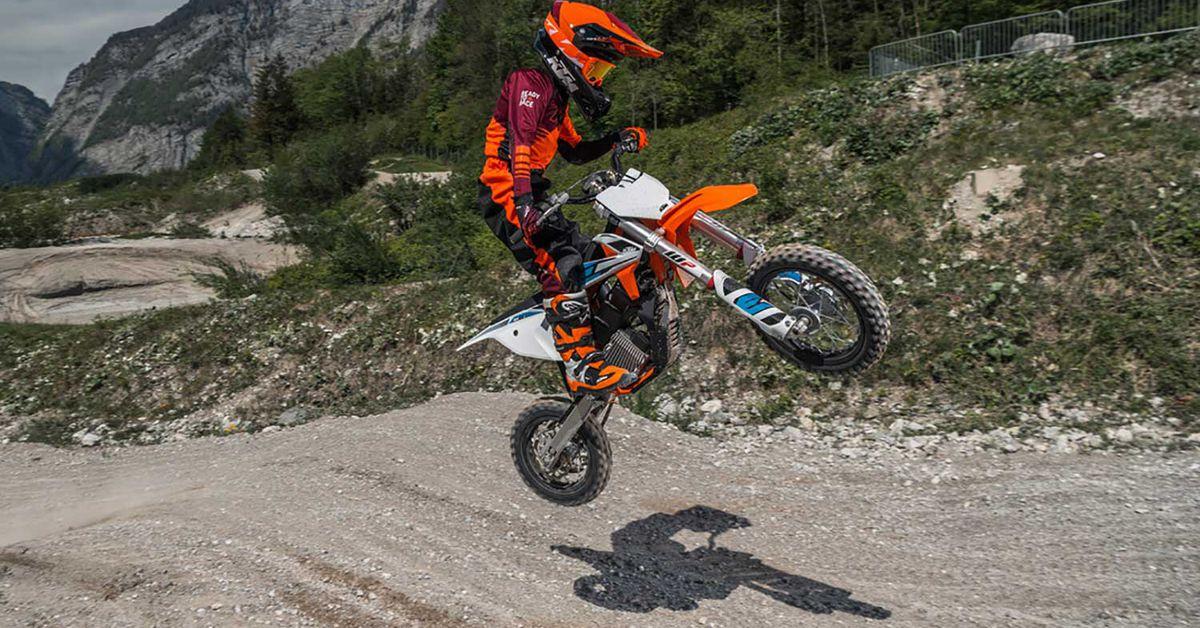 Ktm Unveils 2020 Sx E 5 Mini Electric Bike Dirt Rider