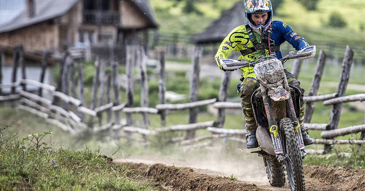 Wade Young Tops 2018 Red Bull Romaniacs