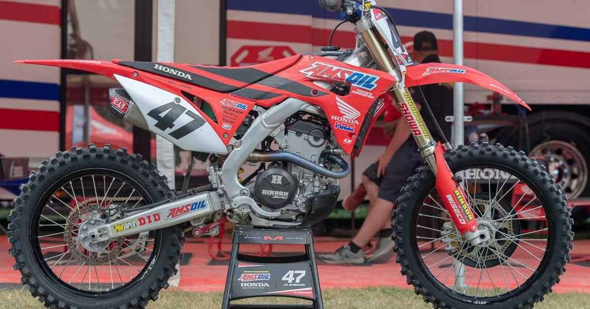 Factory Amateur Motocross Bikes—Jo Shimoda's Honda CRF250R