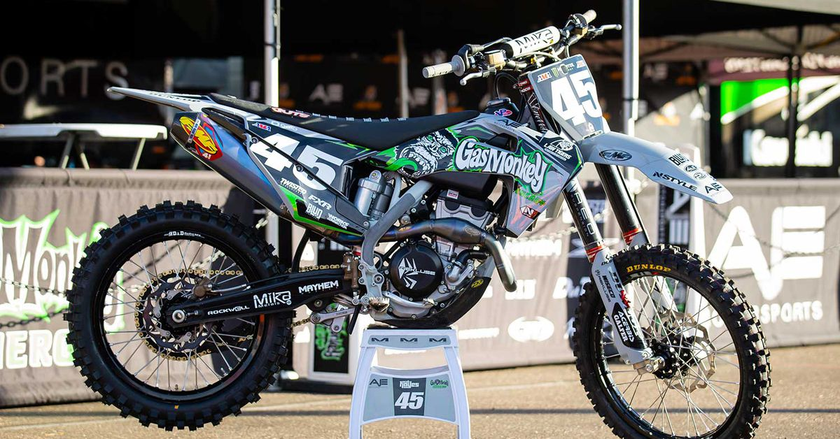 2020 Supercross Bikes—Jacob Hayes' Husqvarna FC 250