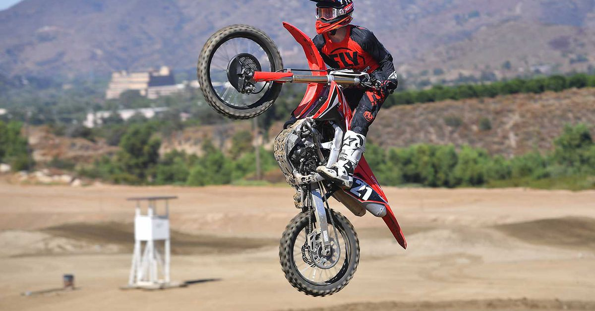 2020 Honda CRF250R First Ride Review