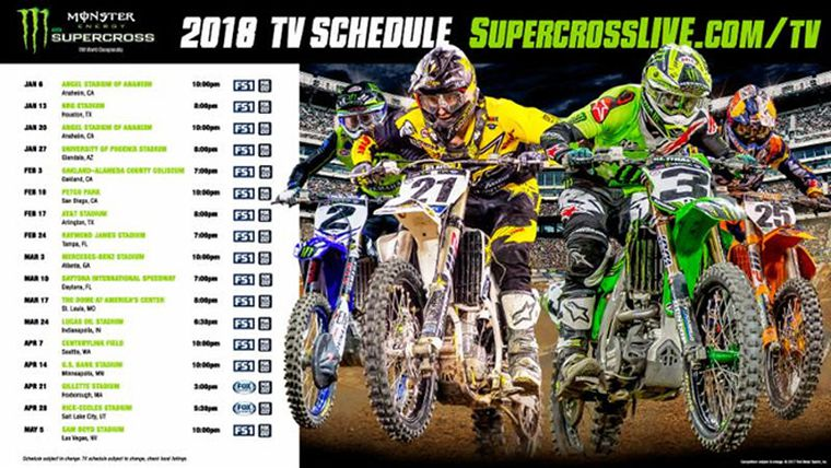 2018 Supercross Series Changes Format Dirt Rider