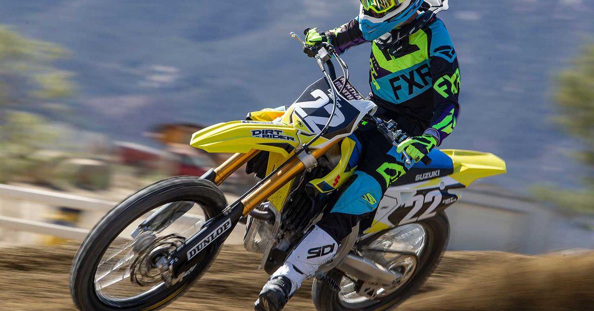Best Motocross Bike 6th Place—2020 Suzuki RM-Z250