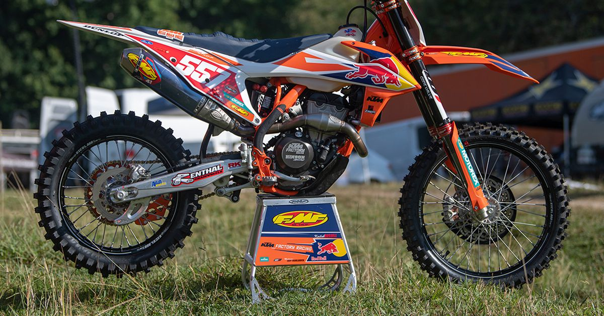2019 Factory Off-Road Bikes—Kailub Russell's KTM 350 XC-F