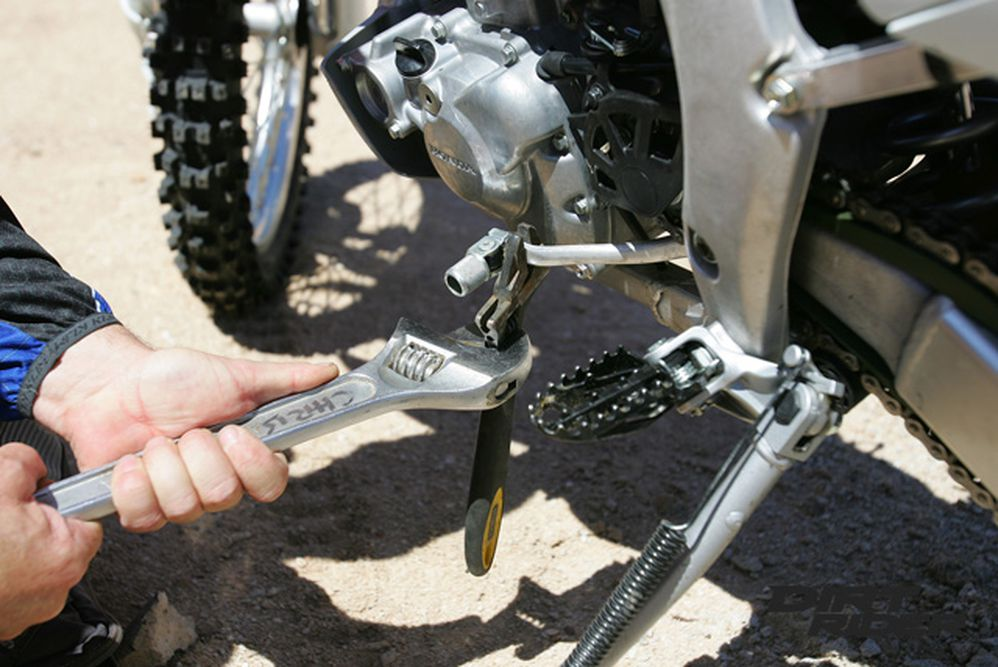 Trail Tip: Bending Shift Levers | Dirt Rider