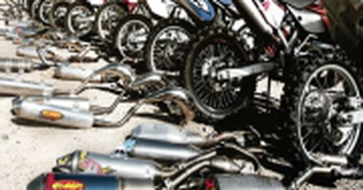 2010 Exhaust Pipe Buyer's Guide | Dirt Rider