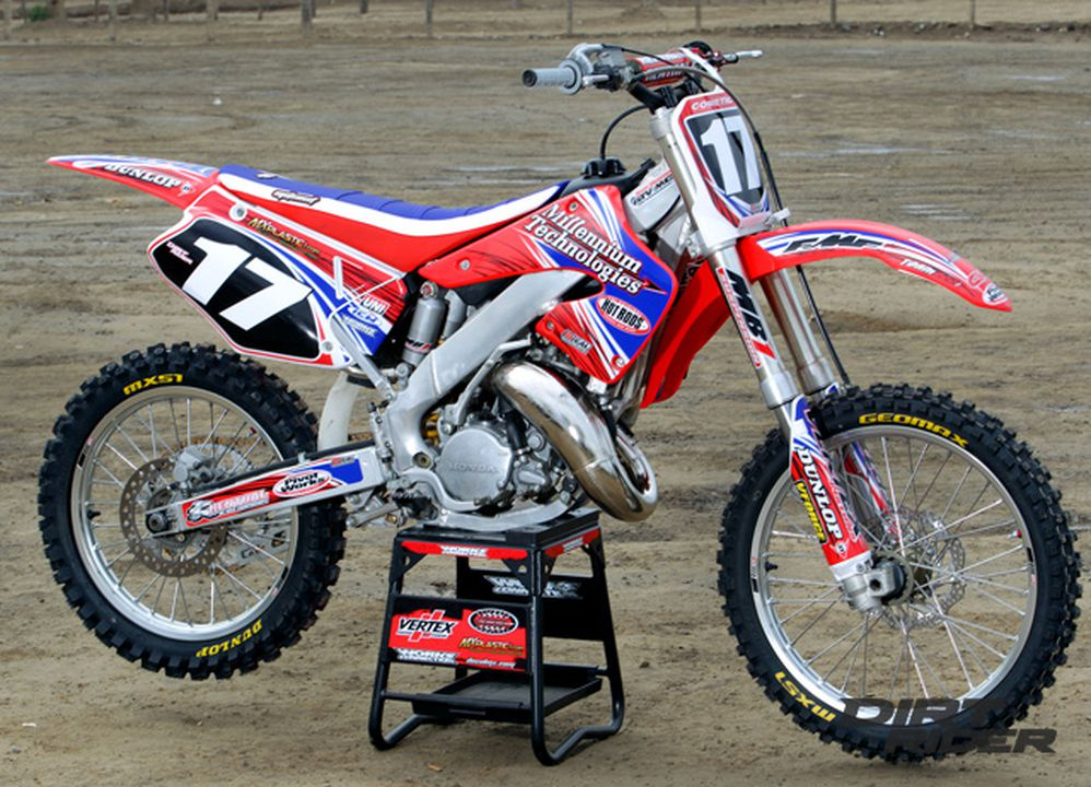 2000 Honda CR125 - A new bike rises from the ashes | Dirt Rider