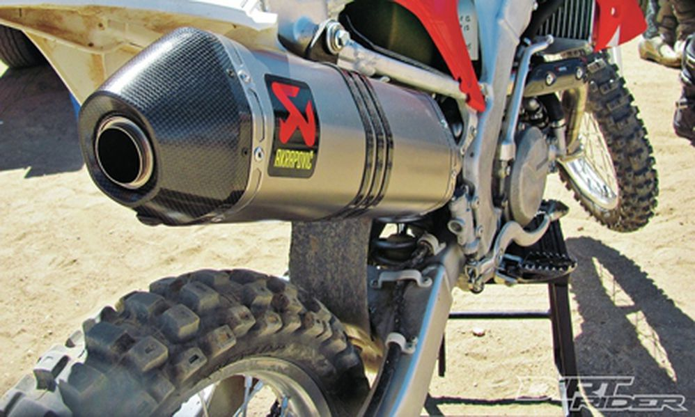Akrapovic Evolution Exhaust System For 2011 Honda CRF450R Review